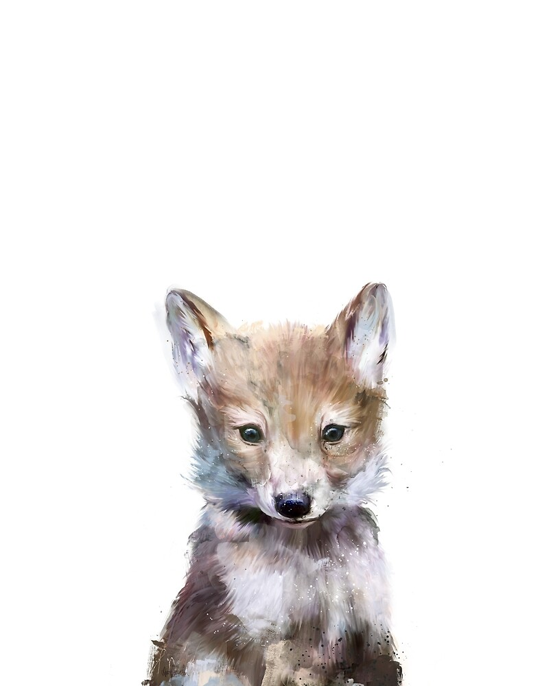 Quot Little Wolf Quot By Amy Hamilton Redbubble