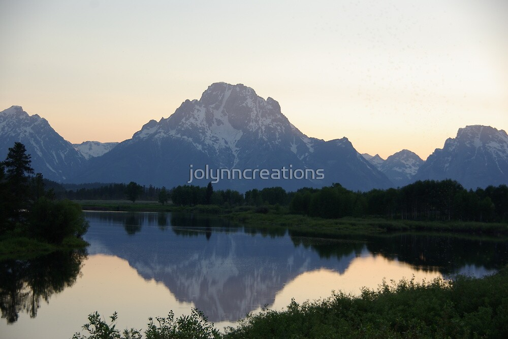 Grand Tetons by jolynncreations