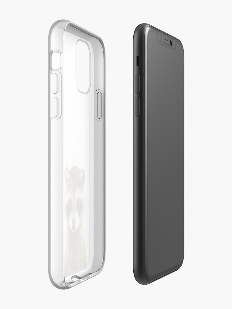 little raccoon iPhone 11 case