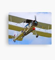 Fairey Swordfish II LS326 - Duxford Canvas Print
