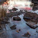 Glen Helen Gorge Sunset by Bill  Robinson