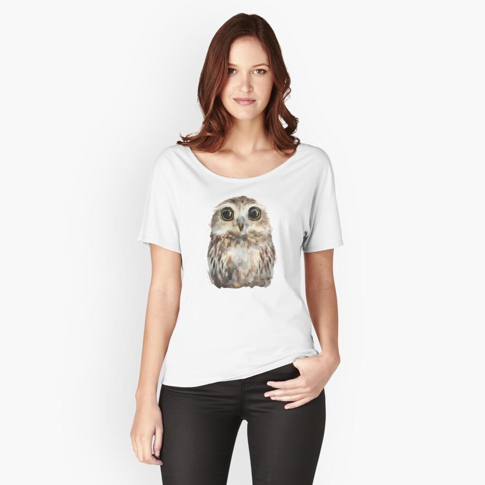 Kleine Eule Baggyfit T-Shirt