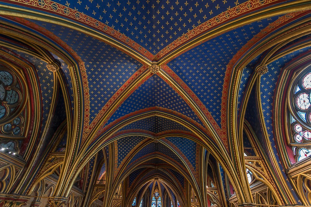 Sainte Chapelle in Paris by KeithMcInnes