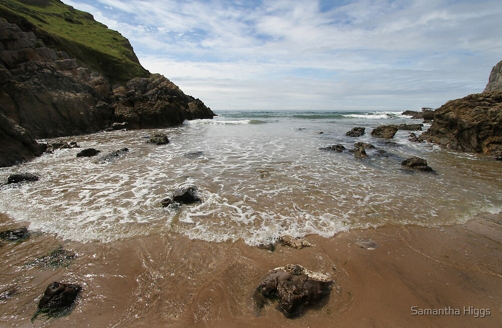 Mewslade Bay - Gower - Wales by Samantha Higgs