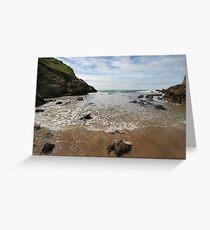 Mewslade Bay - Gower - Wales Greeting Card