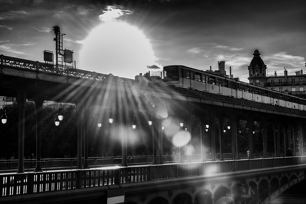Pont Bir Hakiem over the Seine  by KeithMcInnes