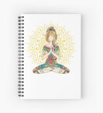 Yoga Om Chakras Achtsamkeits-Meditation Zen 4 Spiralblock
