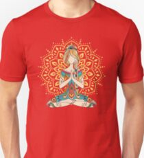 Yoga Om Chakras Achtsamkeits-Meditation Zen 4 Slim Fit T-Shirt