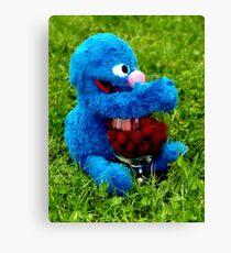 Selfish Grover Canvas Print