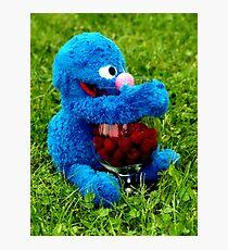 Selfish Grover Photographic Print