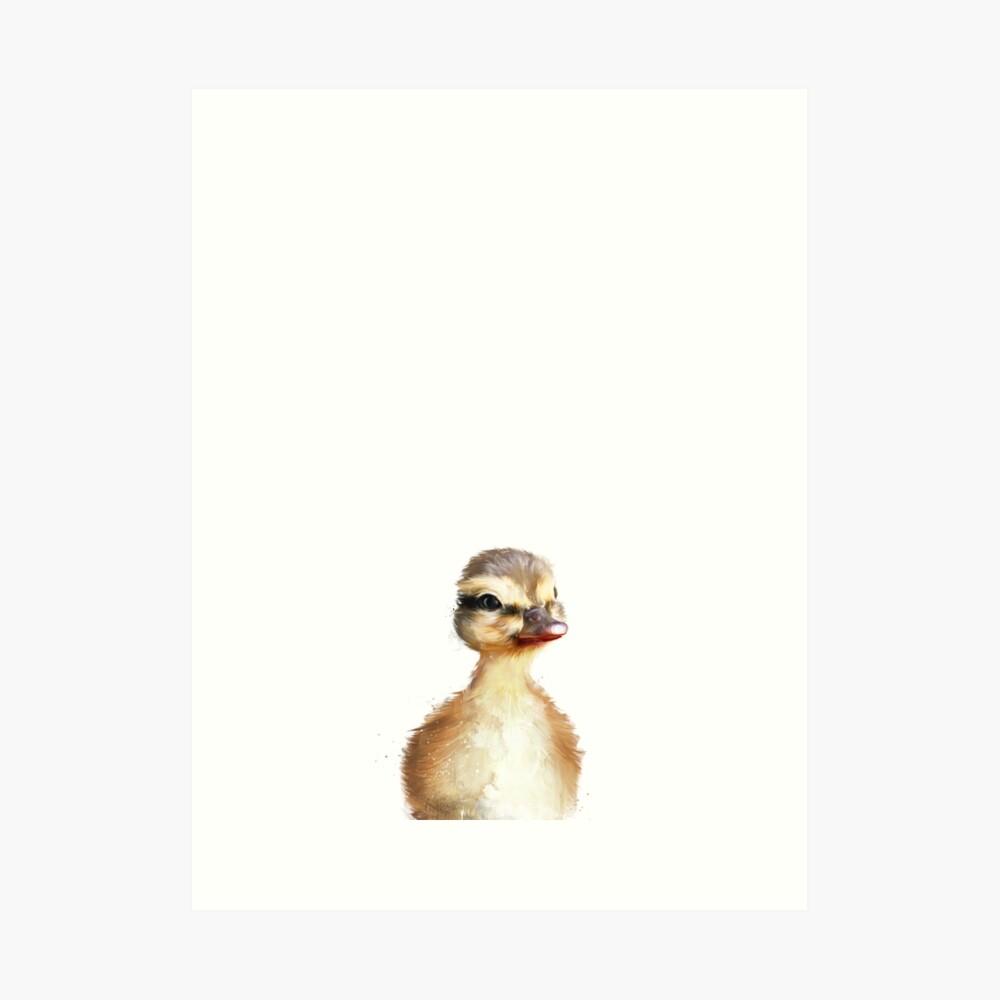 Kleine Ente Kunstdruck
