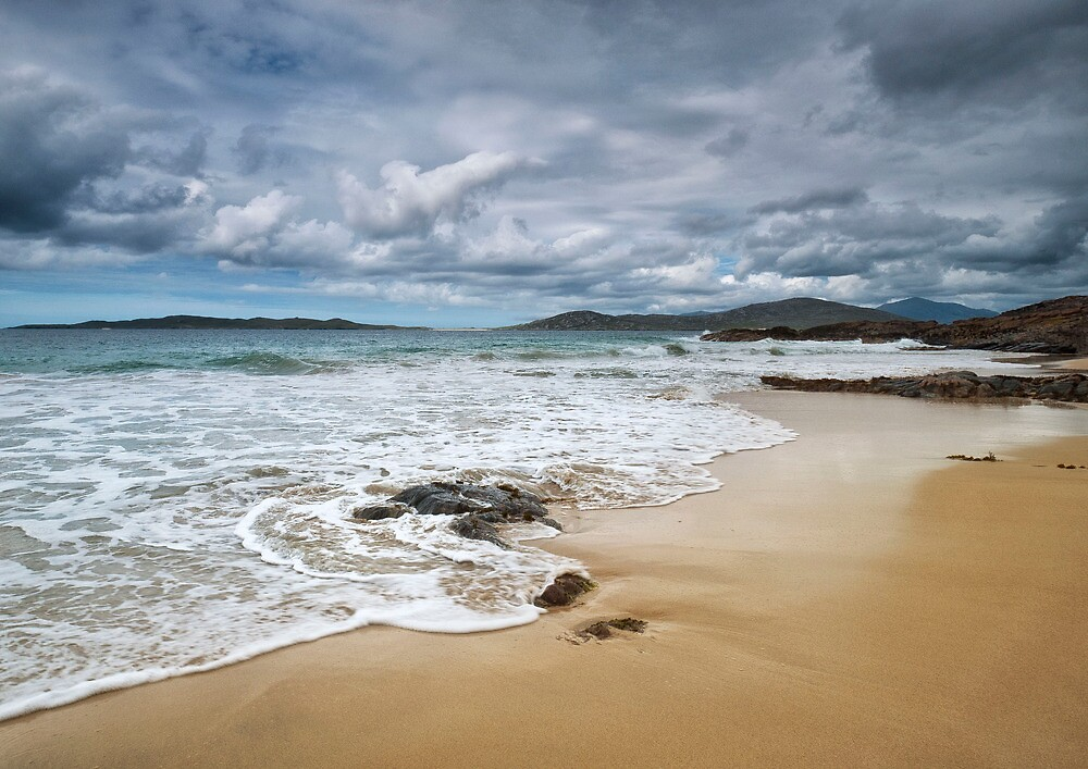 scarista beach, harris by paul mcgreevy