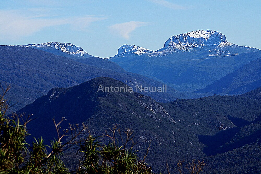 Cradle Mountain-a different view by Antonia Newall