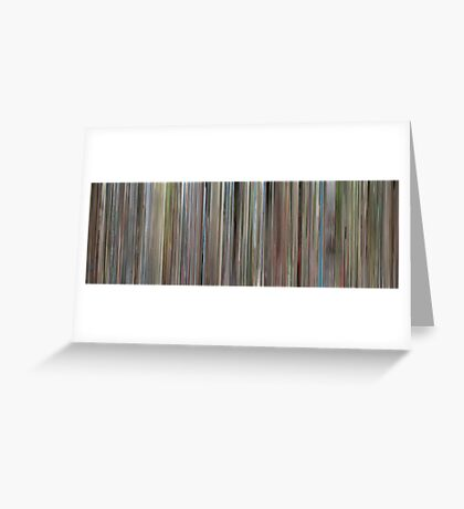 Moviebarcode: Ferris Bueller's Day Off (1986) Greeting Card