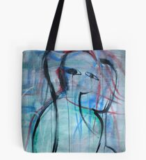 Abstracted Pause Tote Bag
