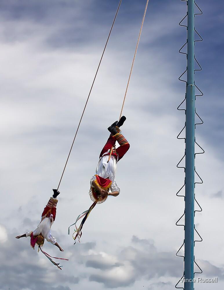Danza de los Voladores by Vince Russell