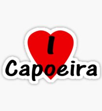 Dance - I Love Capoeira T-Shirt, Camisa & Top Sticker