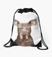 Little Moose Drawstring Bag