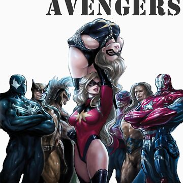 Dark Avengers by robzbertz