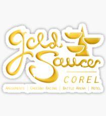 Final Fantasy VII - Gold Saucer Amusement Park Sticker