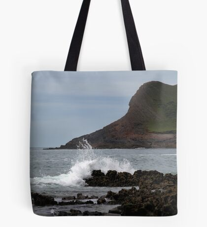 View From Mewslade Bay Tote Bag