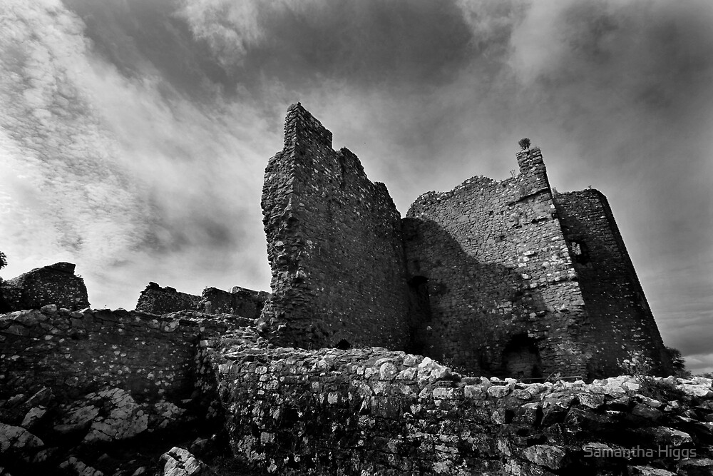 Weobley Castle Ruins - Gower - Wales by Samantha Higgs