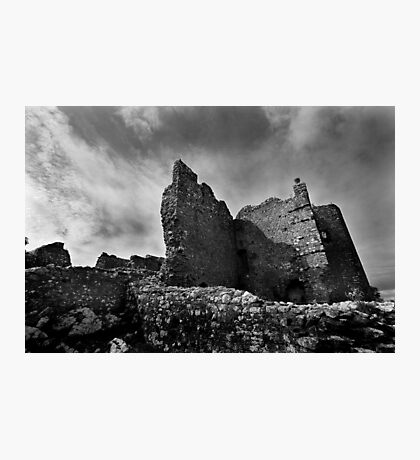 Weobley Castle Ruins - Gower - Wales Photographic Print