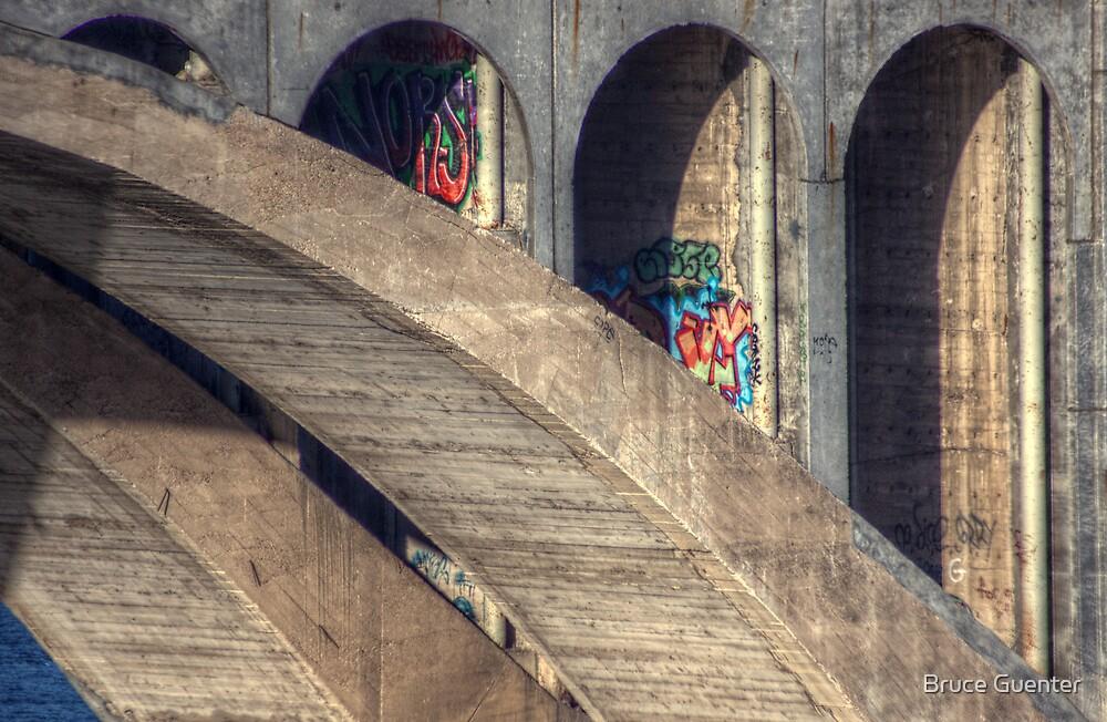 Daring Grafitti by Bruce Guenter