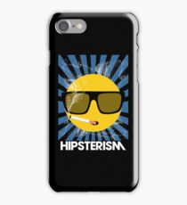 HIPSTERISM (SERIES) [blue/white] iPhone Case/Skin