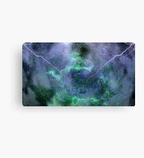 At Ceti Tau - Quadtrant X Trickster Loki Nebula-b Canvas Print