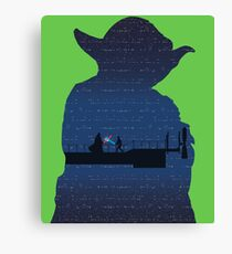 Empire Strikes Back Canvas Print