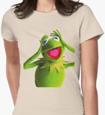 KERMIT THE FROG Women's Fitted T-Shirt