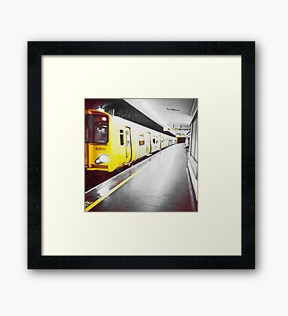 Liverpool - James Street Station Framed Print