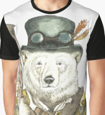 Polar Bear Warden Graphic T-Shirt