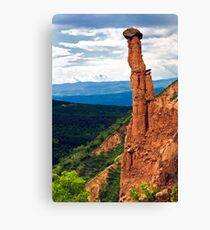 beauty of earth pyramides Canvas Print