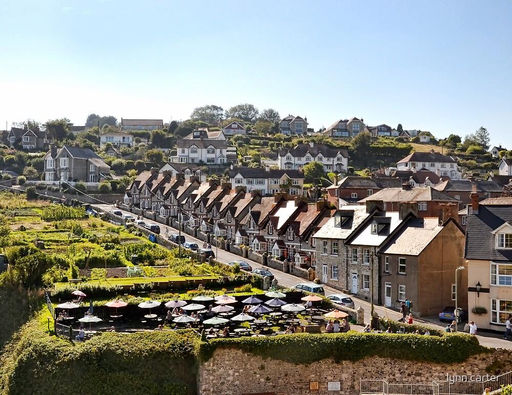Cottages At Beer Devon UK by lynn carter