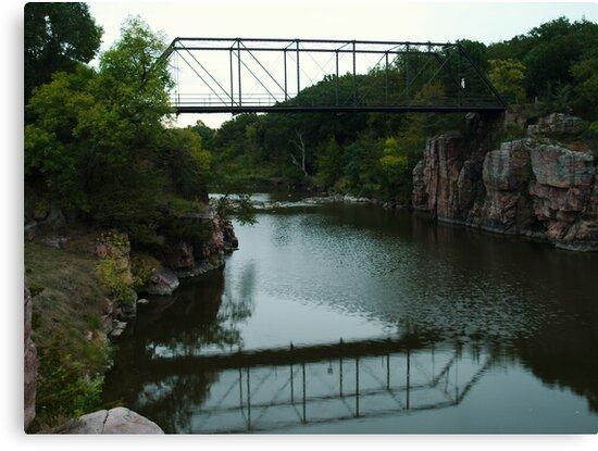 Bridge Over the Gorge by Scott Hendricks