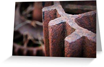 Rusty Cogs by Paul Croxford