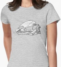 Twin Crests, 2 Women's Fitted T-Shirt