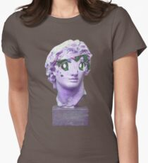 Anime Caesar Womens Fitted T-Shirt