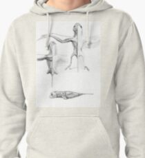 Anurognath Muscle Study Pullover Hoodie