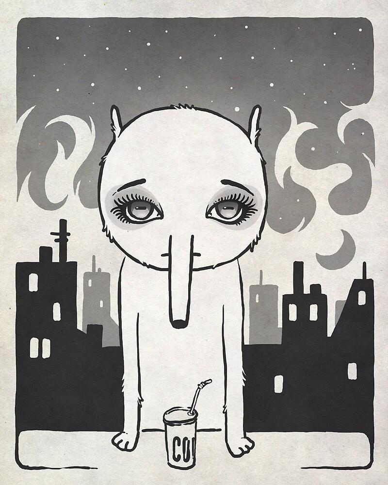 Melancholia Nocturna by Kuba Gornowicz