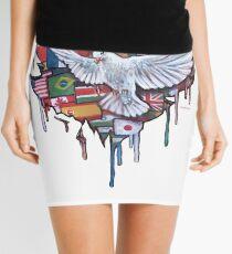 Peace by Jody Steel Mini Skirt