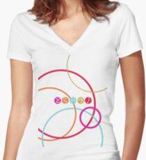 Toradora logo Women's Fitted V-Neck T-Shirt