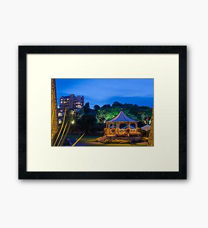 The Bandstand Framed Print
