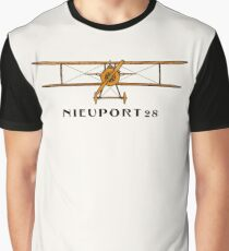 Nieuport 28 - America's First Fighter Aircraft Graphic T-Shirt