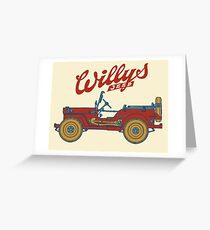 Willys-Overland MB 1941 Greeting Card