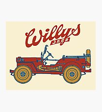Willys-Overland MB 1941 Photographic Print