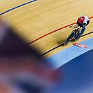 Sarah Storey on her way to Gold by Chrissie Taylor