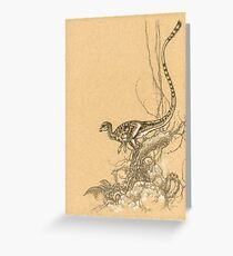 Leaellynasaura Greeting Card